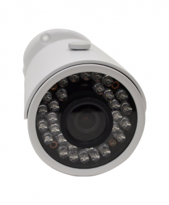 3MP INFRARED IP BULLET SECURITY CAMERA front
